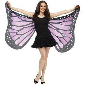 Butterfly wings scarf for costume fairy festival